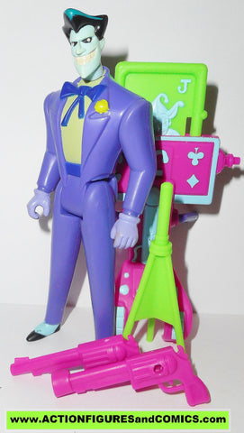 batman animated series WILD CARD JOKER complete kenner the