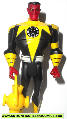 justice league unlimited SINESTRO yellow corps green lantern complete dc universe