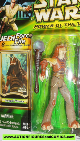star wars action figures GUNGAN WARRIOR royal power of the jedi moc