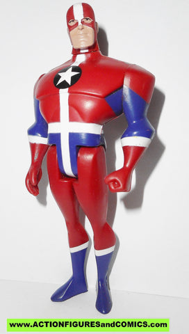 justice league unlimited COMMANDER STEEL overseas exclusive dc universe
