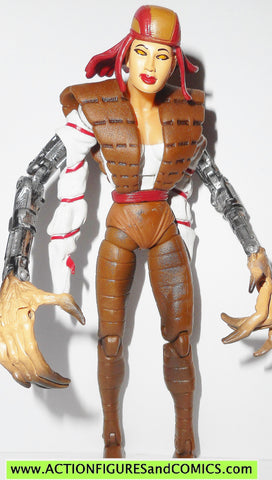 marvel legends LADY DEATHSTRIKE x-men wolverine onslaught series toybiz
