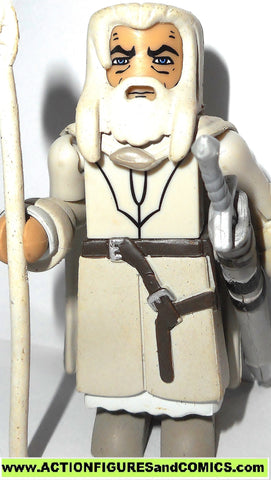 minimates lord of the rings GANDALF the white lotr hobbit 2004 action figure