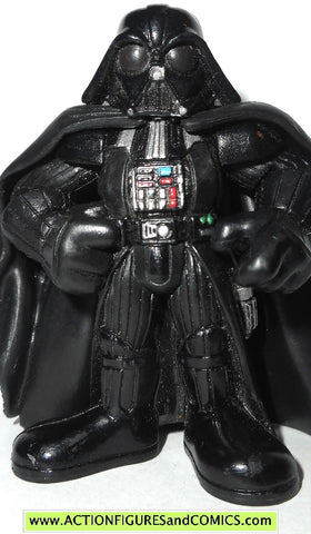 STAR WARS galactic heroes DARTH VADER posing bespin cloud city pvc action figure