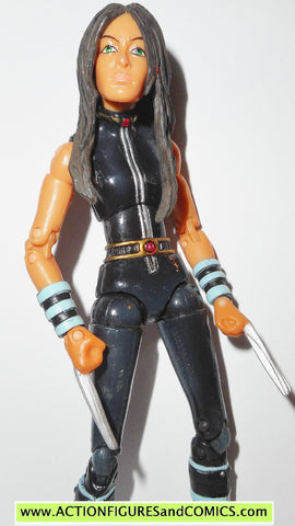 marvel legends X-23 black VARIANT apocalypse series toy biz x-men