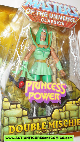 masters of the universe DOUBLE TROUBLE 2014 mischief classics she-ra he-man moc