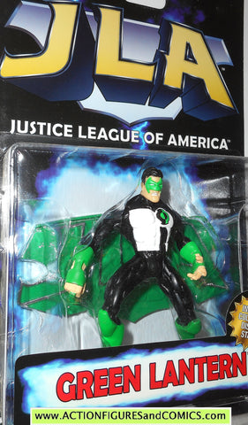 Total Justice JLA GREEN LANTERN kyle rayner 1999 dc universe league action figure MOC