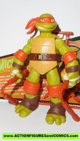 teenage mutant ninja turtles MICHELANGELO 2012 eyes Nickelodeon playmates toys tmnt