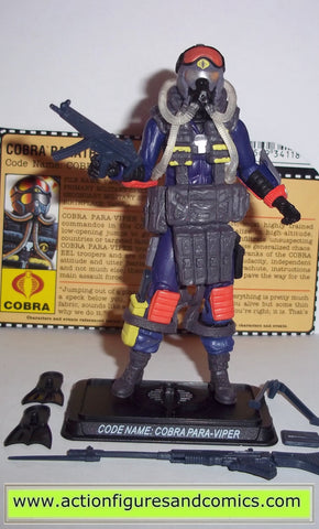 gi joe PARA VIPER cobra 25th anniversary gijoe hasbro action figures toys