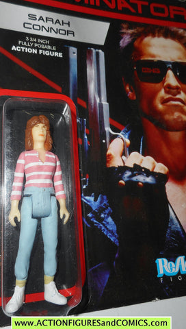 Reaction figures Terminator SARAH CONNOR movie funko toys action moc mip mib