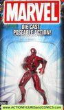 Marvel die cast CARNAGE Spider-man poseable action figure 2002 toybiz MOC