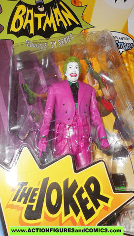 BATMAN classic tv series JOKER 1966 66 show dc universe action figures moc