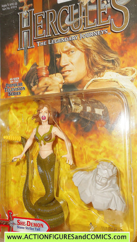 Hercules Legendary Journeys SHE DEMON MEDUSA action figures toy biz moc