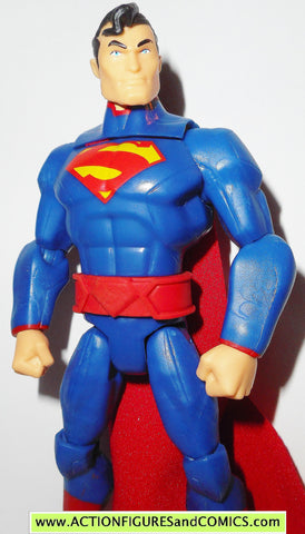 DC universe total heroes SUPERMAN 2013 6 inch action figures
