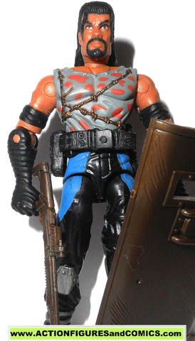 gi joe BURNOUT dreadnok 2003 v2 spytroops MP disguise gijoe g i nofc