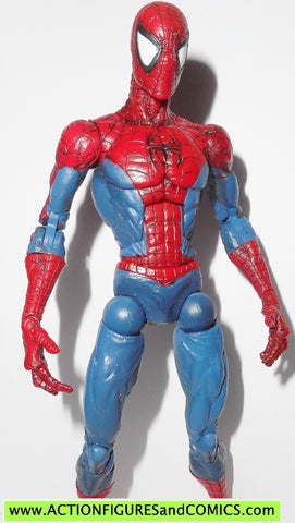 marvel legends SPIDER-MAN classics mcfarlane super poseable 2004 toy biz action figures