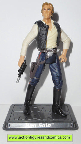 star wars action figures HAN SOLO 35 2006 Saga hasbro toys