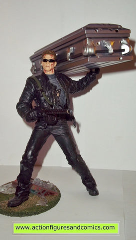 Terminator Mcfarlane movie masters T-850 coffin movie 3 rise of the machines action figures toys fig