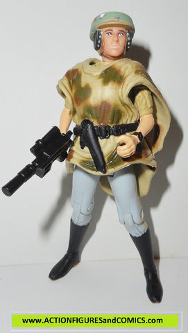 star wars action figures PRINCESS LEIA endor poncho power of the force