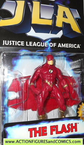 Total Justice JLA FLASH barry allen 1999 dc universe league action figure MOC