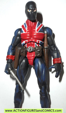 marvel universe UNION JACK series 1 026 2009 hasbro toys action figures complete