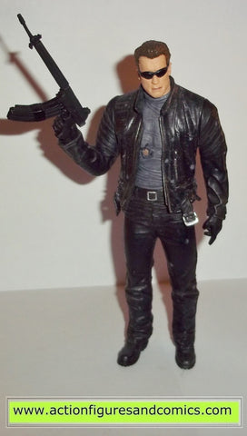 Terminator Mcfarlane movie masters T-850 movie 3 rise of the machines action figures toys #2202