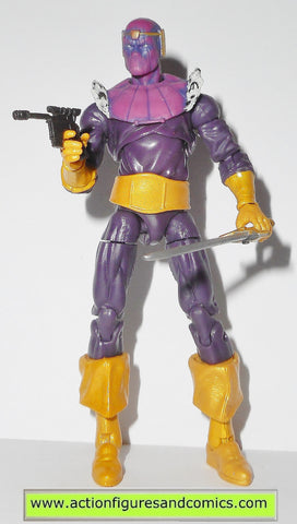 marvel universe BARON ZEMO series 5 hasbro toys action figures complete