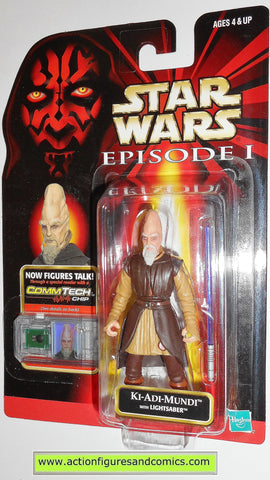 star wars action figures KI ADI MUNDI episode I 1999 toys moc