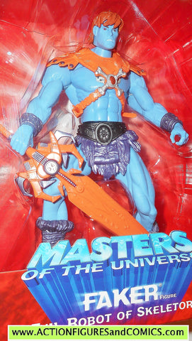 Masters of the Universe FAKER HE-MAN 2002 toyfare motu action figures moc mib