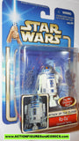 star wars action figures R2-D2 coruscant sentry INSERT 2002 Attack of the clones saga movie moc