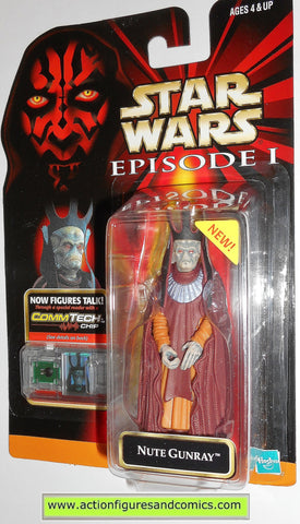 star wars action figures NUTE GUNRAY episode I 1 1999 hasbro toys moc mip mib