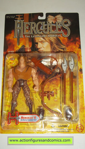 Hercules Legendary Journeys HERCULES II 2 action figures toy biz mib moc mip