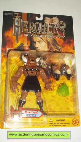 Hercules Legendary Journeys MINOTAUR action figures toy biz mib moc mip