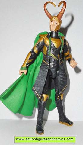marvel universe LOKI cosmic spear thor movie action figure 2010