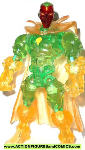 Marvel Super Hero Mashers VISION clear translucent 6 inch universe 2014 action figure