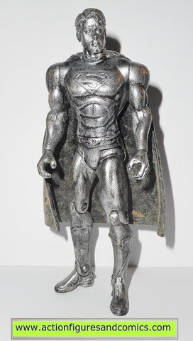 Superman Returns movie SUPERMAN PEWTER variant 2006 mattel