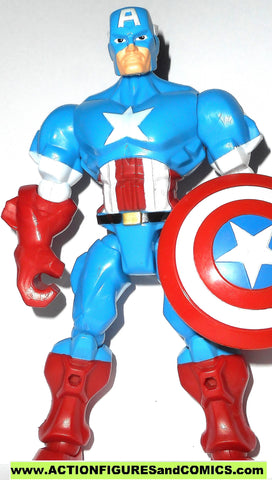 Marvel Super Hero Mashers CAPTAIN AMERICA 6 inch universe 2013 action figure