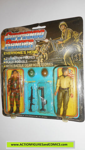 commando ranger demon gi joe BAZOOKA BOB MAJOR ED 1987 MOC