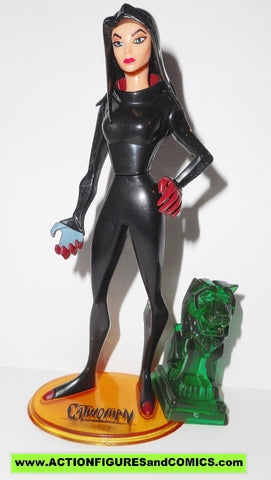 batman EXP animated series CATWOMAN unmasked selina kyle dc action figures