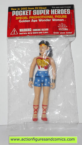 dc direct WONDER WOMAN POCKET HEROES super universe infinite heroes moc mib mip