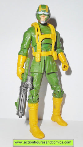 marvel universe HYDRA ATTACK TROOPER yellow variant 27 hasbro action figures