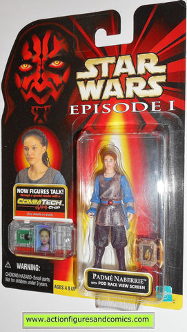 star wars action figures PADME AMIDALA episode I 1999 moc mip mib