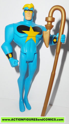 justice league unlimited STARMAN blue version with COSMIC ROD dc universe