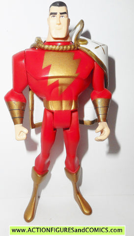 justice league unlimited SHAZAM Captain Marvel dc universe jlu action figures