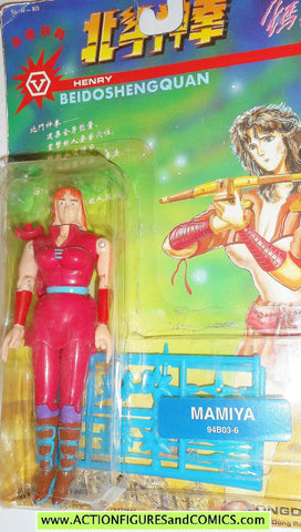 Fist of the North Star MAMIYA 6 inch Yongda toys action figures moc