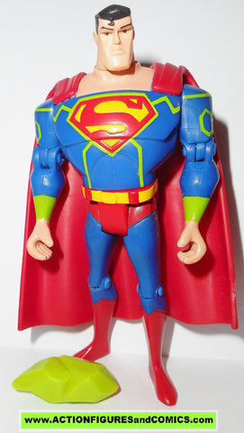 justice league unlimited SUPERMAN anti kryptonite suit mattel dc universe