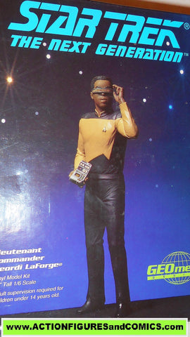 Star Trek GEORDI LAFORGE Geometric vinyl model kit 1/6 scale