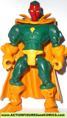 Marvel Super Hero Mashers VISION solid 6 inch universe 2014 action figure