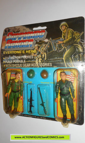 commando ranger demon gi joe GUNNER BILL PARACHUTE PETE 1987 moc