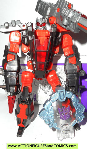 transformers cybertron SCRAP METAL red 2006 4 inch scout class action figure