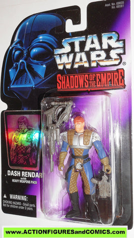 star wars action figures DASH RENDAR shadows of the empire hasbro toys moc mip mib